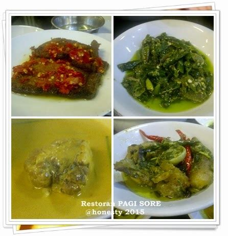 dapur ikobana restoran pagi sore masakan padang