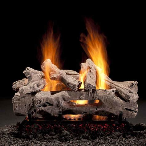Hargrove Fireplace Logs by Hargrove Driftwood 24 Quot Vented Gas Log Set Drs2406aa