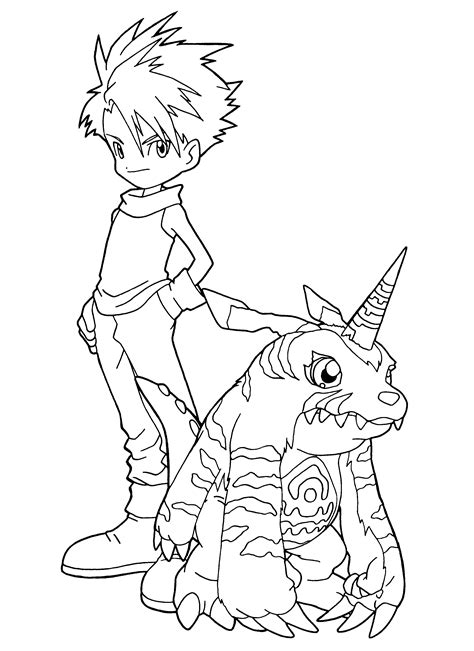 digimon coloring pages coloring page digimon coloring pages 96