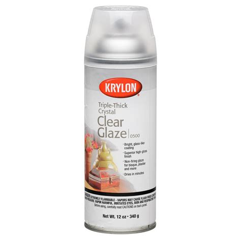 Krylon 174 Triple Thick Crystal Clear Glaze