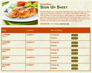 potluck list template potluck planning made easy