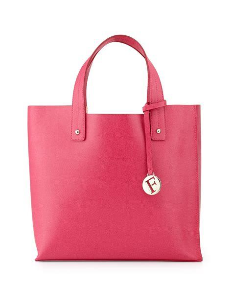Furla Tote Bag furla musa medium leather tote bag in pink lyst