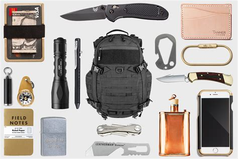 everyday carry edc everyday carry 30 edc essentials made in usa hiconsumption