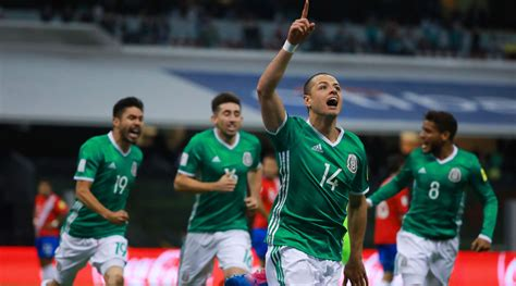 mexico world cup 2018 mexico qualifies for 2018 world cup seals place with