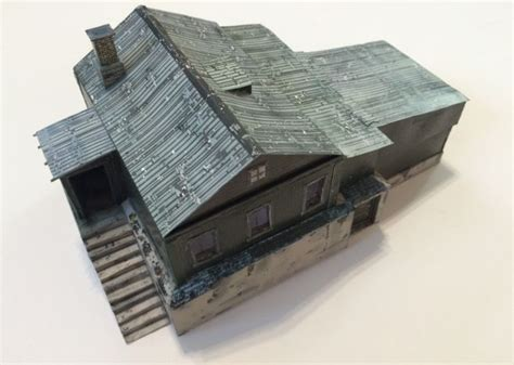 Paper Craft Buildings - dayz chernarus chalet free building paper model