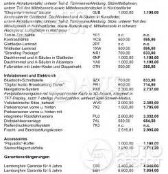 Lamborghini Price List Uk Lamborghini Uk Price List Suzuki Cars