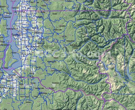 zip code map king county king county wa zip codes seattle zip code map