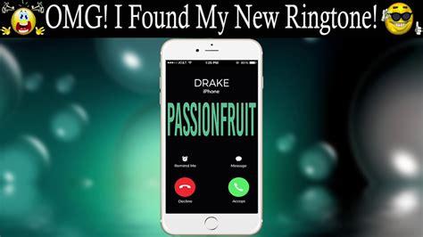 don theme ringtone drake passionfruit theme ringtone for your iphone youtube