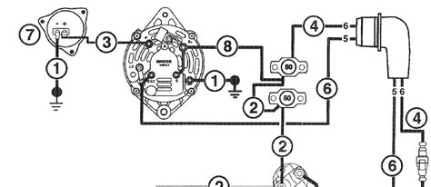 alternator wiring diagram omc co alternator free engine