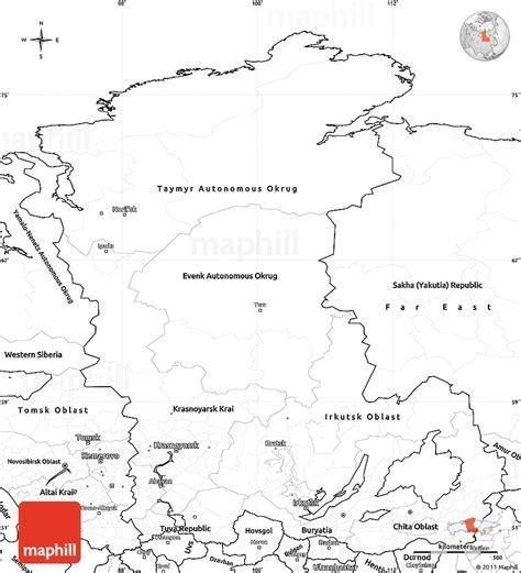 russia maps siberia maps blank simple map of eastern siberia