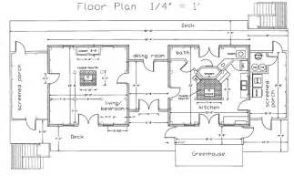 House Layout Drawing Passive Solar House Design