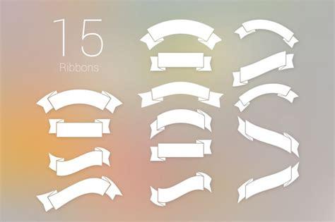9 ribbon banners jpg psd ai illustrator download フラットなデザインにもすっと溶け込むリボンやラベル素材 商用可 ai eps psd free style