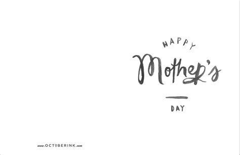 mothers day cards template office october ink free s day printables october ink