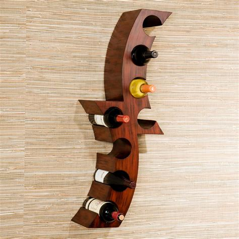 Wall Mount Wine Rack by Sei Calabria Wall Mount Wine Rack Kitchen