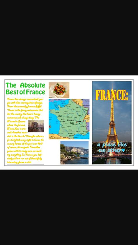 How To Make A Travel Brochure With Paper - how to make a travel brochure with pictures wikihow