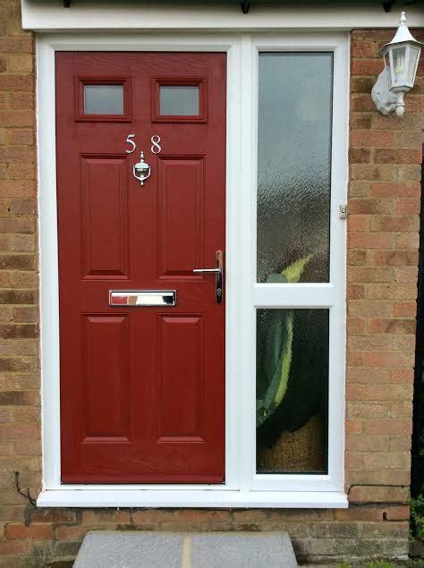 front door with side panels composite door side panels