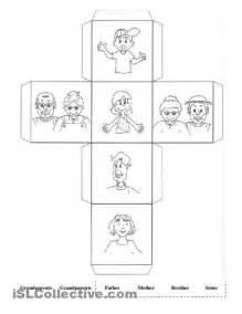 13 best images of my family preschool worksheet my