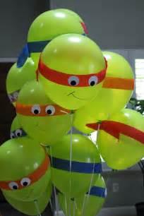 Ninja Turtle Birthday Decorations Crafty Mama Ninja Turtles Birthday Party