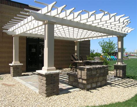 Attractive Fiberglass Pergolas   Patio Town