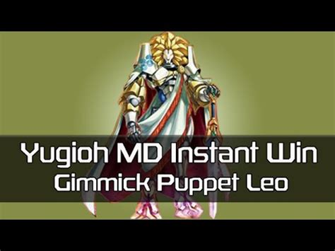Yugioh Instant Win Cards - yugioh md millennium duels instant win deck puppet leo youtube
