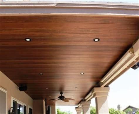 Outdoor Patio Wood Ceiling by Wood Patio Ceiling This Home Wood