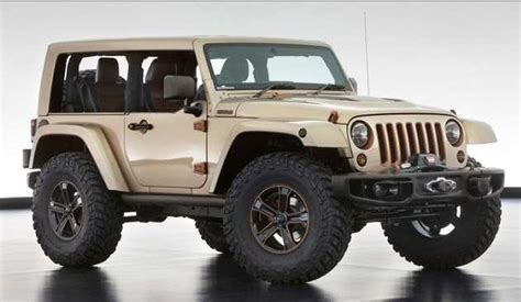 New Jeep Model 2017 Jeep Wrangler Concept Colors Price Release