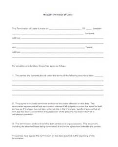 mutual termination of lease business forms