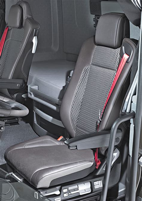 comfortable truck seats standard equipped by recaro renault trucks t series named