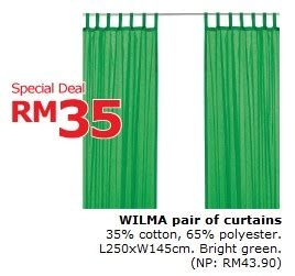 ikea wilma curtains ikea one day only deals wilma pair of curtains