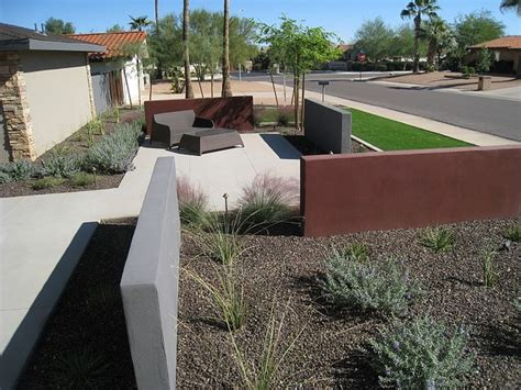 Landscape Architect Arizona Lowell Britt Residence Scottsdale Az Modern