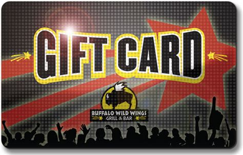 Bw3 Gift Card - buffalo wild wings gift card pop on behance
