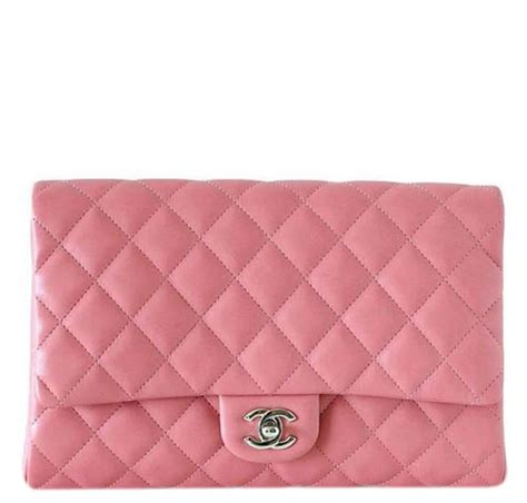 Chanel Anak Pink K chanel woc bag lambskin leather pink silver hardware baghunter