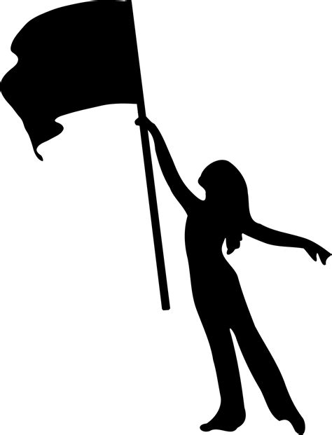 color guard color guard flag silhouette www imgkid the image