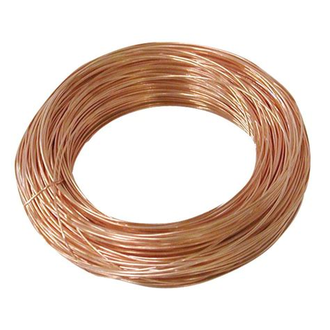 home depot wire ook 24 100ft copper hobby wire 50164 the home depot
