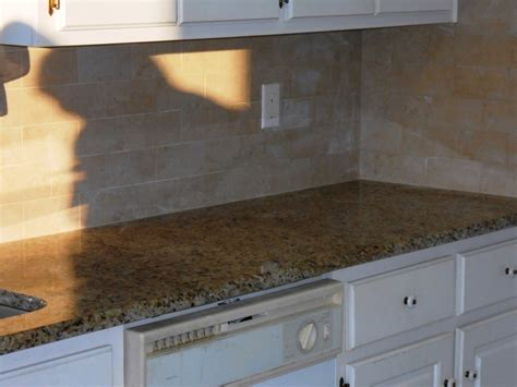 giallo ornamental granite with backsplash giallo ornamental granite countertop kitchen traditional