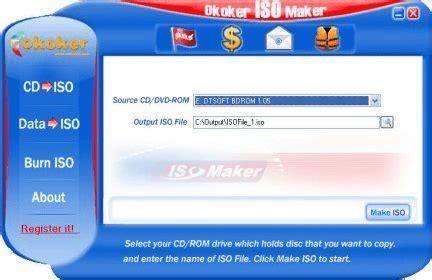 free full version iso creator free full version for notebook okoker iso maker 7 4 get