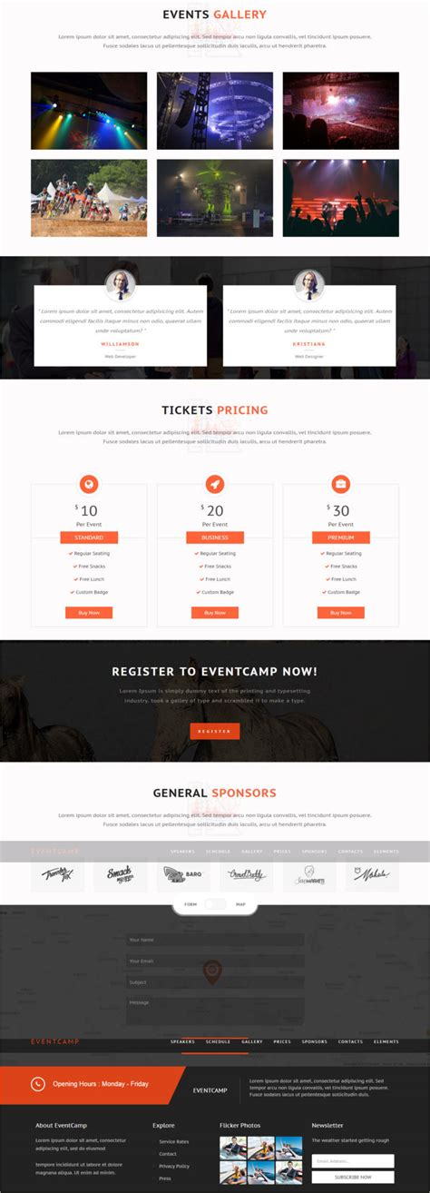 Event Conference Website Template Free Premium Templates Conference Website Template Free
