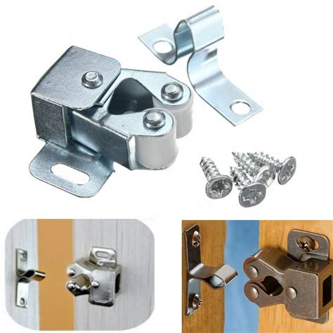 Cabinet Door Catch by Silver Roller Catch Cupboard Cabinet Door Latch