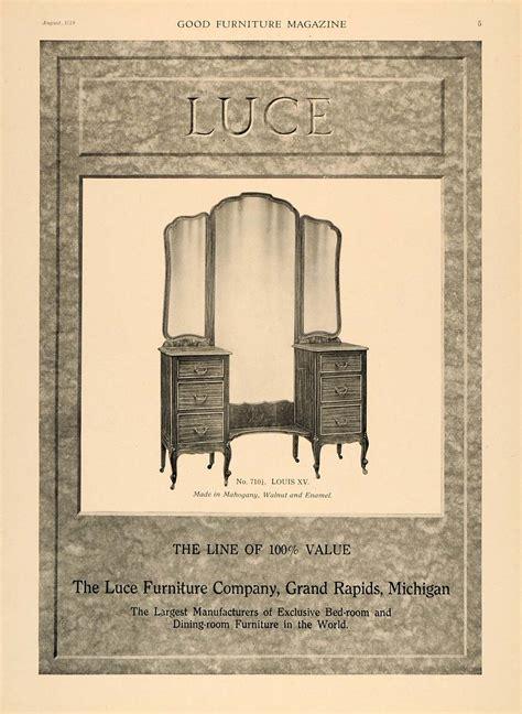 1919 ad luce furniture mirror dresser 710 louis xv