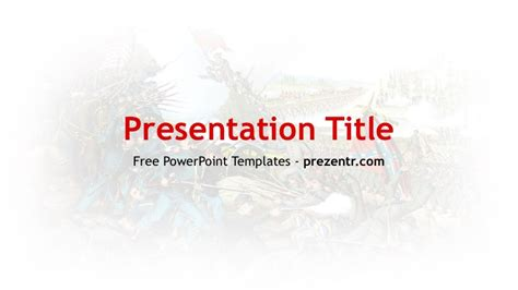 Free American Civil War Powerpoint Template Prezentr Ppt Templates War Powerpoint Template