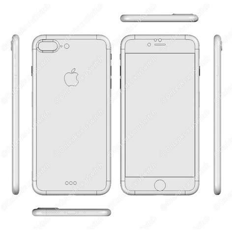 iPhone 7 en 7 Plus ontwerp lijkt op dat van iPhone 6s en