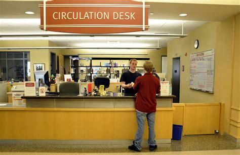 library circulation desk hostgarcia