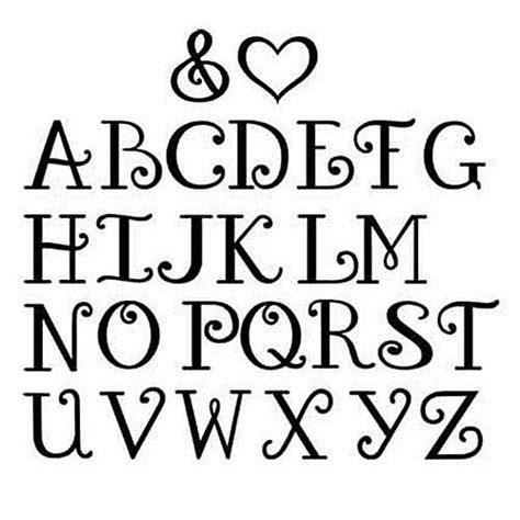 Letter Font Lettering Fonts Search Bujo