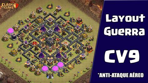 layout para youtube editavel layout de guerra para cv9 anti ataques a 201 reos clash of