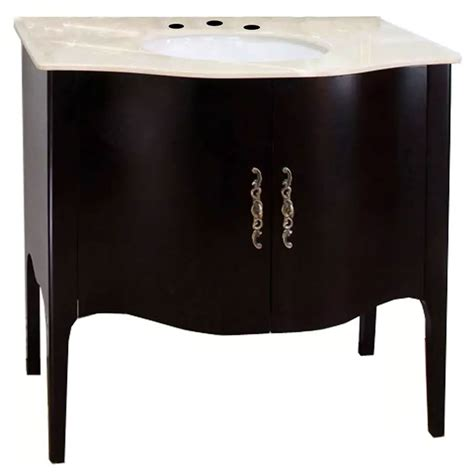 curved bathroom vanity curved apron single sink vanity in bathroom vanities
