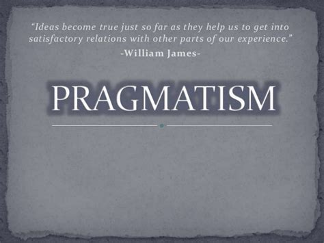 philosophical themes meaning pragmatism philosophy