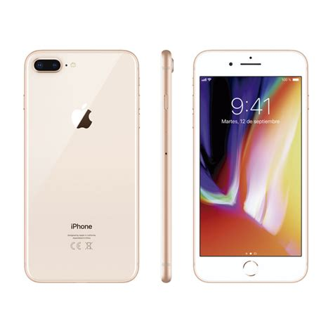 imagenes iphone 8 plus smartphone libre iphone 8 plus 64 gb oro 183 electr 243 nica