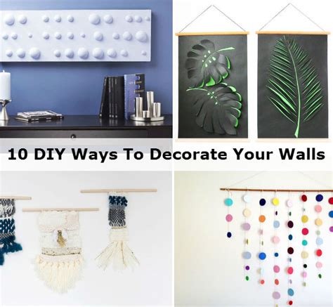 10 tips diy ideas to refresh your home for spring ways to decorate your walls design ideas