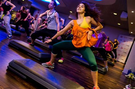 zumba steps by step swap the treadmill for a dance fusion class and a pumping