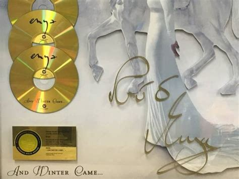 Enya Carity items signed by enya auctioned for charity enyablues